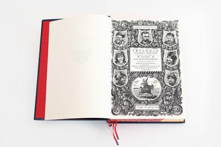 Bibliofilska Trylogia - strona tytułowa