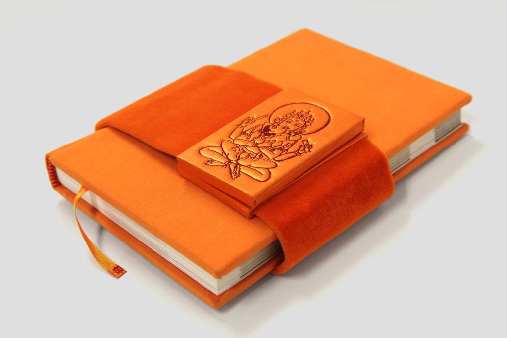 Celli Nicoletta - Buddyzm. Bibliofilska edycja w artystycznej, ręcznie wykonanej oprawie.
