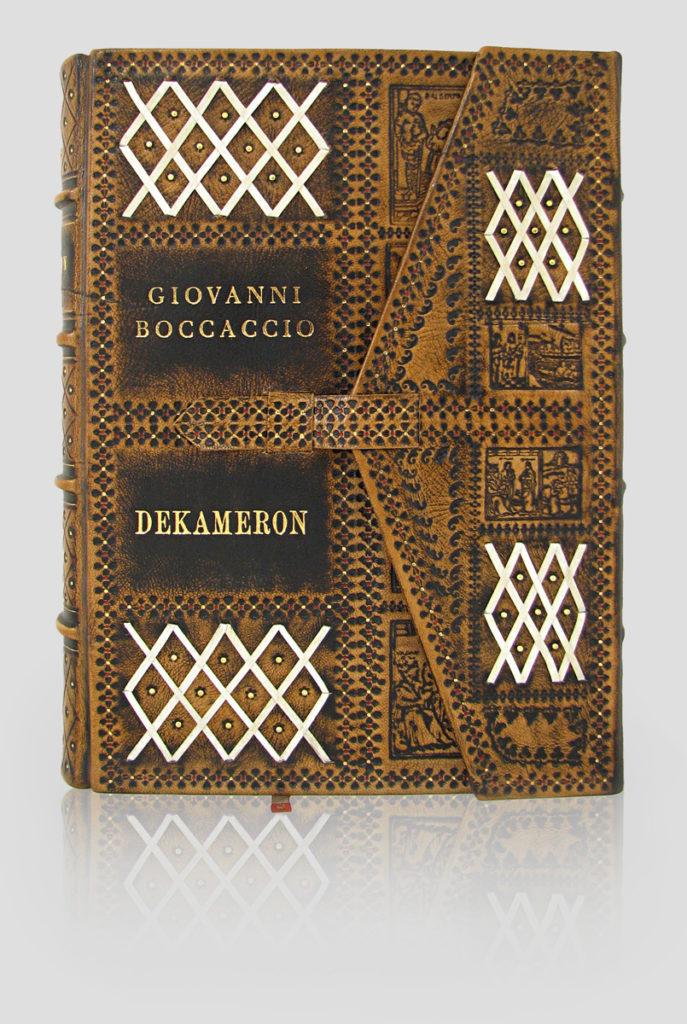 Ekskluzywna oprawa książek Dekameron