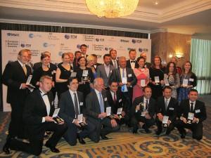 Zdjęcie pamiątkowe laureatów European Business Awards