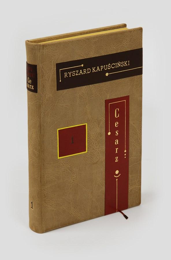 Kapuściński R., Cesarz. Ekskluzywna książka w skórze. Świetna na ekskluzywny prezent.