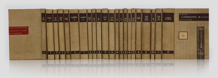 Kapuściński, Dzieła w ekskluzywnej oprawie introligatorskiej. Piękne książki w skórze do biblioteki gabinetowej