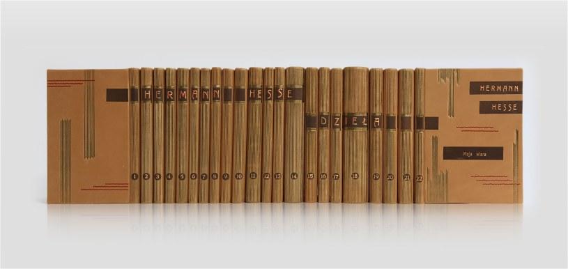 Hesse Hermann Dzieła zebrane w luksusowej oprawie w skórę wykonanej ręcznie