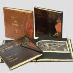 Gibran - The Prophet - Prorok - książka kolekcjonerska - unikatowa oprawa w skórę