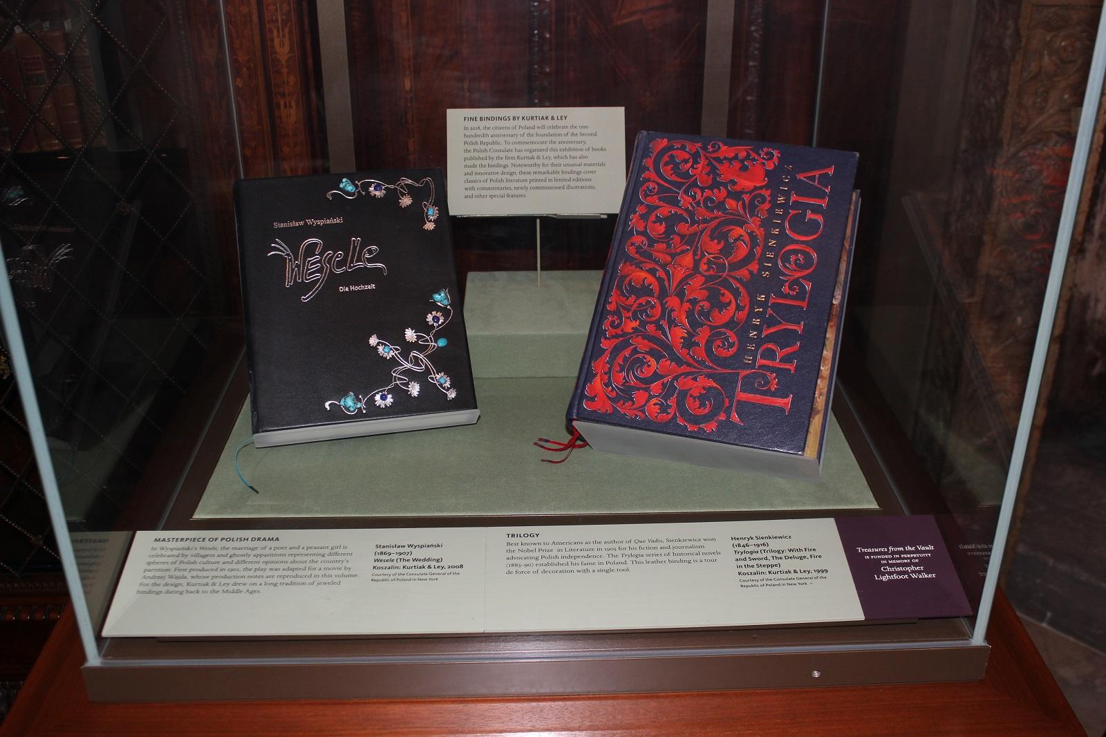 Piękne książki na wystawie w Morgan Library & Museum w Nowym Jorku