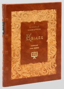Machiavelli Książę, książka kolekcjonerska na ekskluzywny prezent