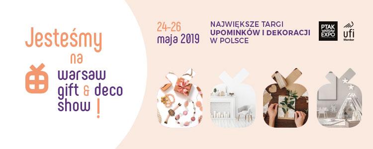 targi Warsaw Gift Expo Warsaw Gift & Deco Show