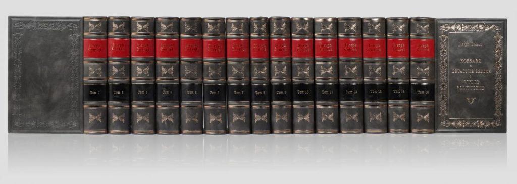 Biblioteka prywatna książek Conrada Josepha, zbiór dzieł