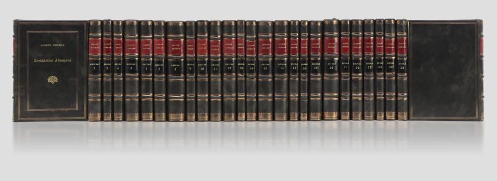 Biblioteka gabinetowa Conrada Josepha, zbiór dzieł