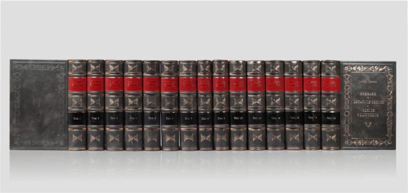 Biblioteka gabinetowa książek Conrada Josepha, zbiór dzieł