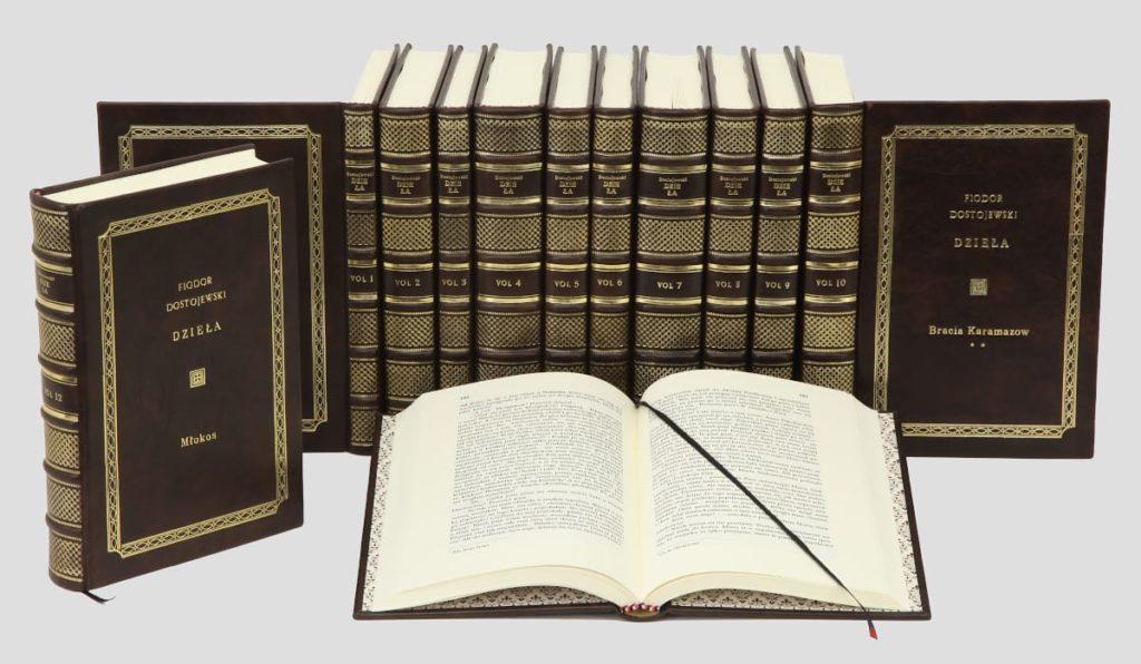 Biblioteka gabinetowa książek Dostojewskiego Fiodora, zbiór dzieł