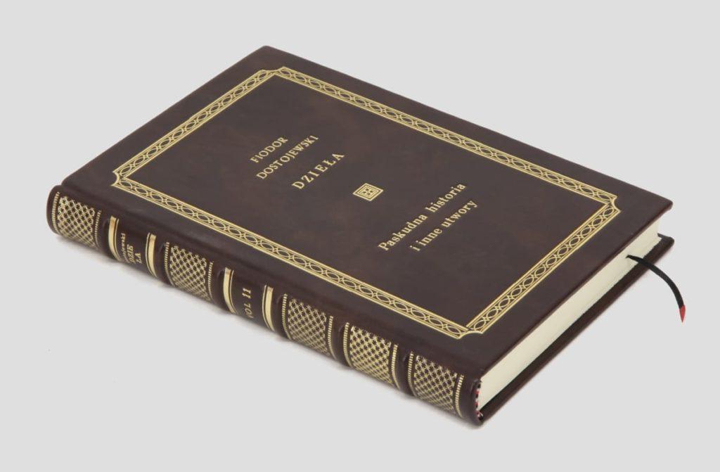 Oprawa introligatorska książki Dostojewskiego Fiodora, Paskudna historia i inne utwory