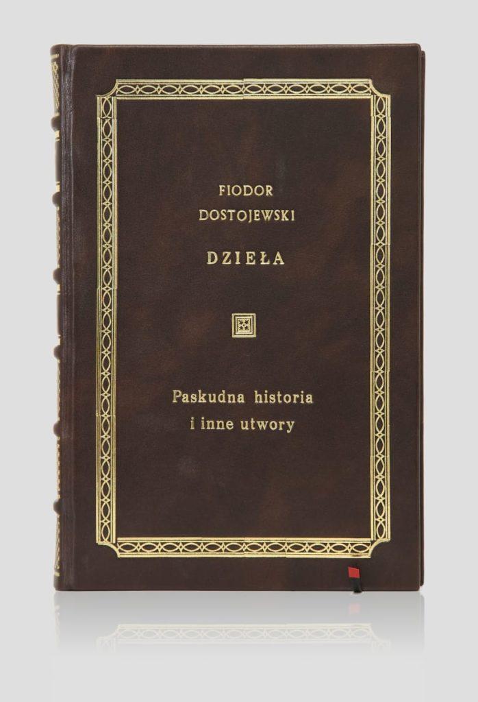 Oprawa książki Dostojewskiego Fiodora, Paskudna historia i inne utwory