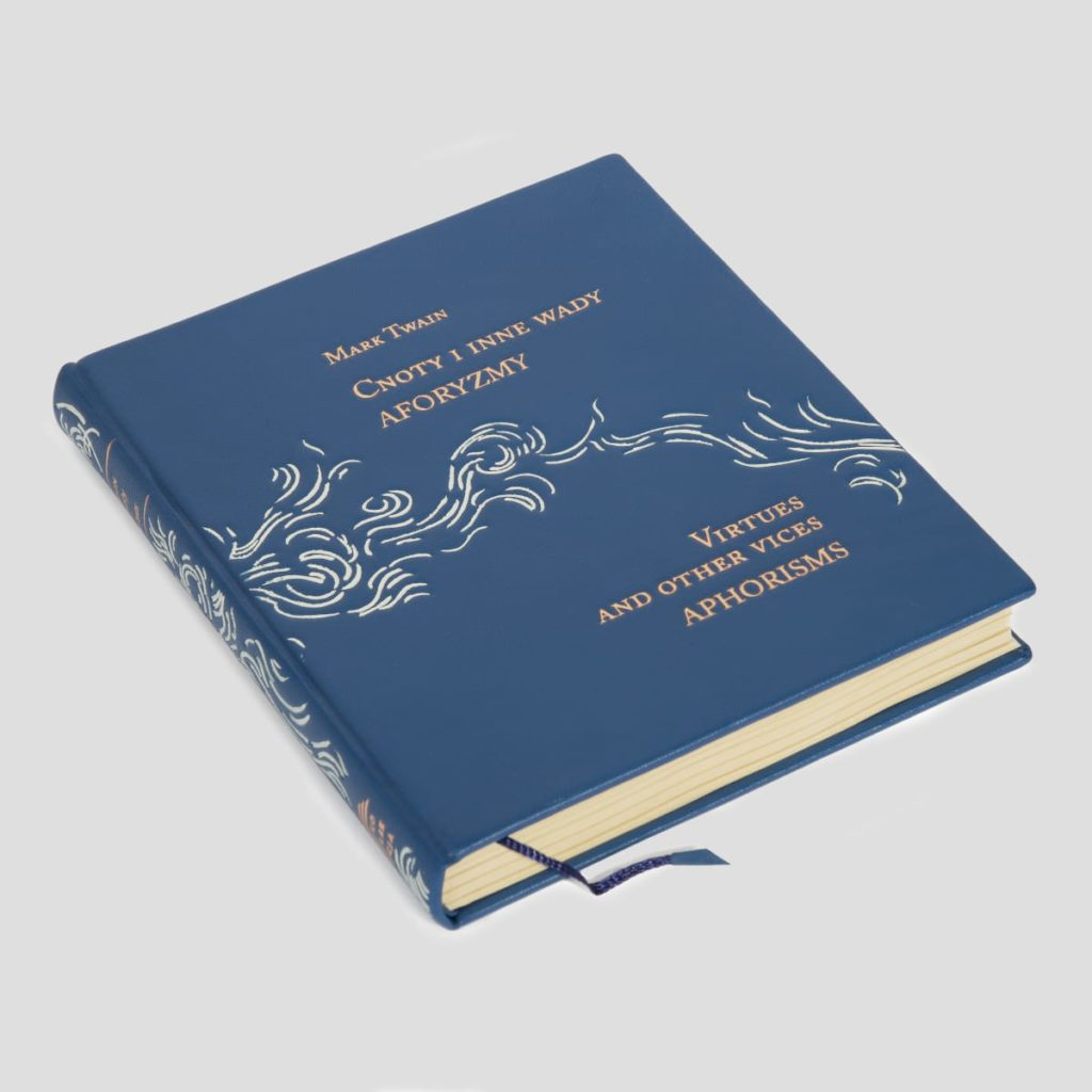 Książka Twaina Marka, Cnoty i inne wady. Aforyzmy idealna na prezent biznesowy
