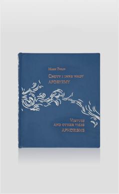 Książka Twaina Marka, Cnoty i inne wady. Aforyzmy na luksusowy prezent