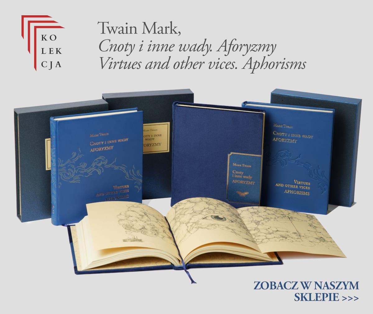 Twain Mark, Cnoty i inne wady. Aforyzmy