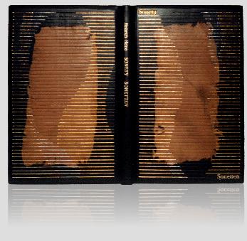 Heine Heinrich — Sonety — Sonette, pierwsza edycja kolekcjonerska, artystyczna oprawa książek