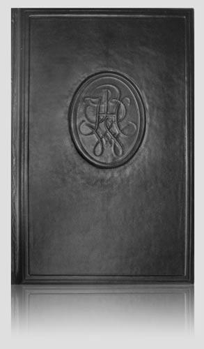 Pamiątkowa księga gości Bank Handlowy SA, artystyczna kronika