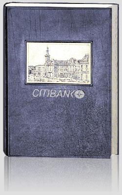 Pamiątkowa księga gości, Citibank, artystyczna kronika