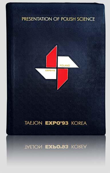 Pamiątkowa księga gości EXPO93 w Korei, artystyczna kronika