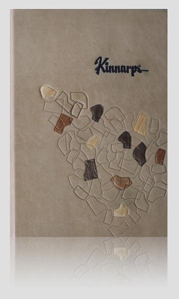 Pamiątkowa księga gości Kinnarps, artystyczna kronika