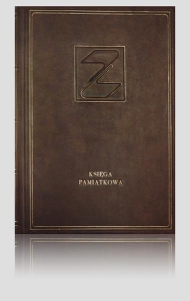 Księga pamiątkowa dla jednego z naszych klientów dla jednego z klientów