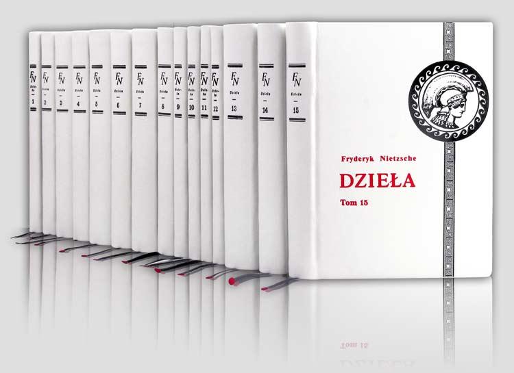 Nietzsche Fryderyk - Dzieła, kolekcja książek