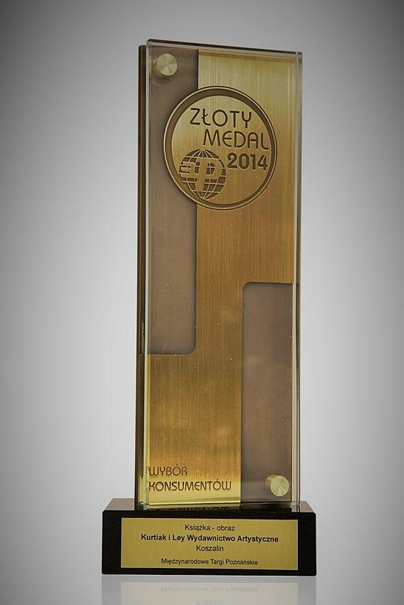 Złoty medal - Wybór Konsumentów 2014