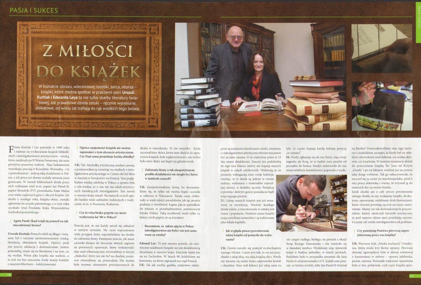Zachodniopomorski Przedsiębiorca (wydanie nr 5/2011) - część 1