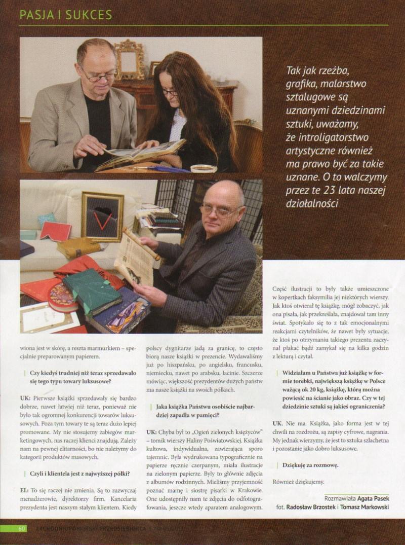 Zachodniopomorski Przedsiębiorca (wydanie nr 5/2011) - część 2
