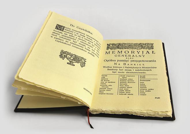 Compendium Ferculorum - ekskluzywny prezent