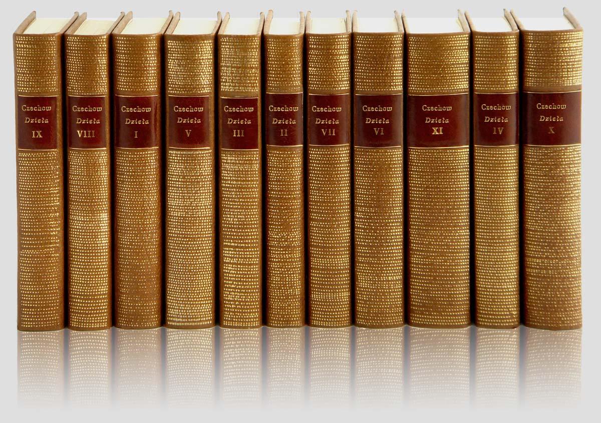 Chekhov Anton Works fine binding collector's books