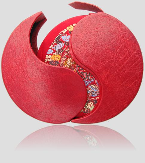 Fletnia chińska, pierwsza edycja kolekcjonerska, artystyczna oprawa książek w jedwab