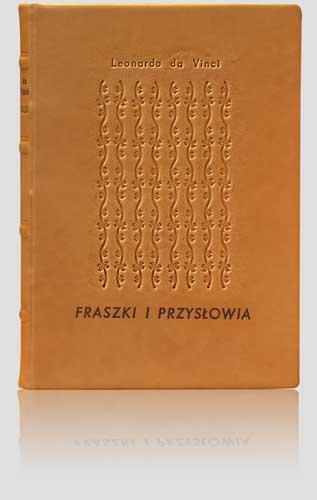 Leonardo da Vinci - Fraszki i przysłowia (dla Becton, Dickinson)