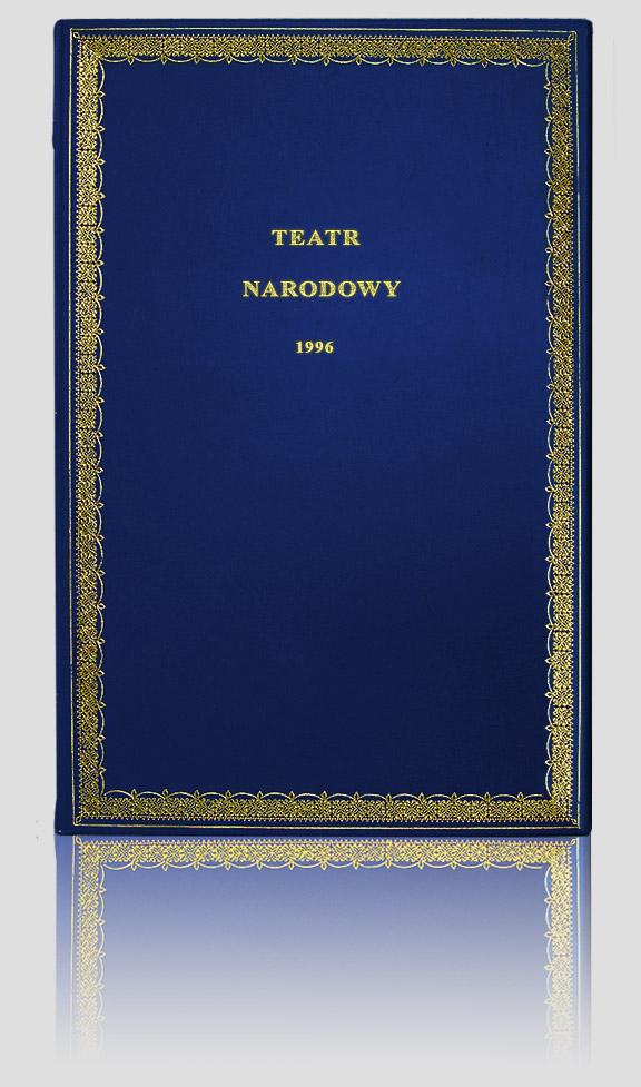 Pamiątkowa księga gości Teatru Narodowego, artystyczna kronika