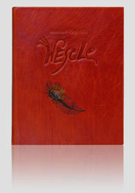 """Wyspiański """"Wesele — Die Hochzeit"""" — artystyczna oprawa książki, Wydawnictwo i Introligatornia Artystyczna Kurtiak i Ley w Koszalinie"""